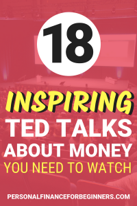 18 TED talks on money you need to watch!