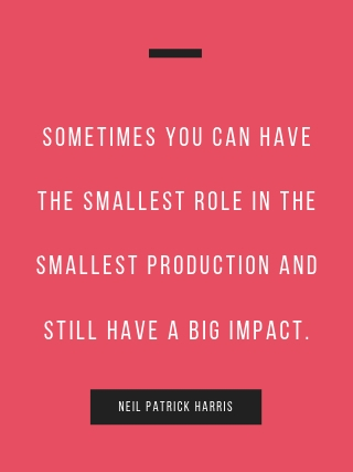 Neil Patrick Harris motivational quote
