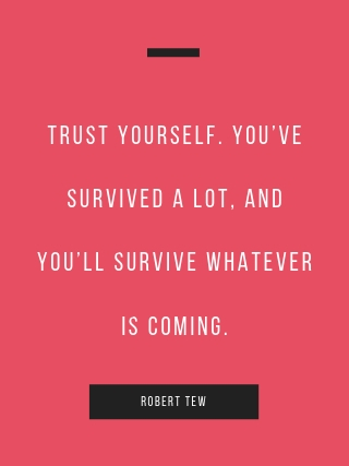 Robert Tew motivational quote